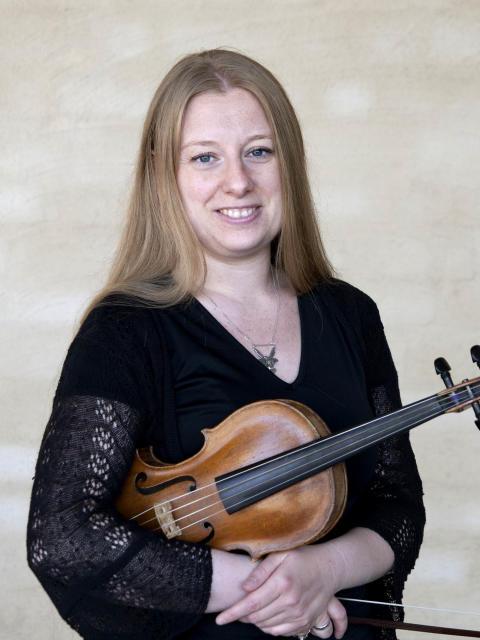 Rebecka Karlsson, barockviolin