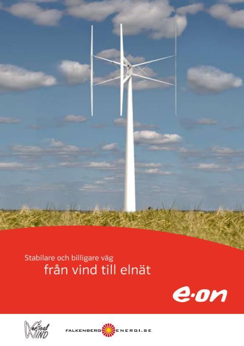 Broschyr om vertikal vindkraft