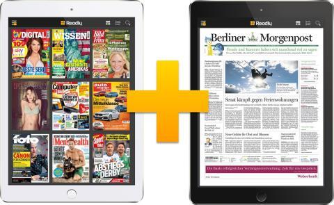 """""""ReadlyPlus"""": Berliner Morgenpost startet als erste Tageszeitung in der Magazin-Flatrate"""