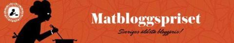 Bakbloggsdominans i Matbloggspriset Folkets val 2018!