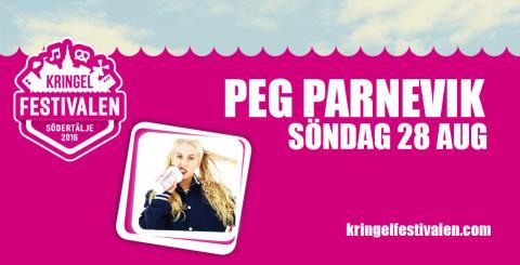 Nya stjärnskottet Peg Parnevik kommer till Kringelfestivalen!