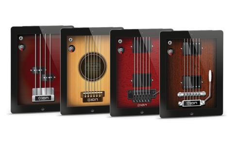 EET Europarts presenterar All-Star Guitar från ION Audio
