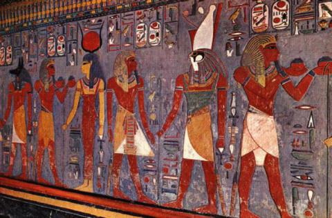 En guidebok till ett evigt liv - om de religiösa texter och bilder som finns på kungagravarnas väggar