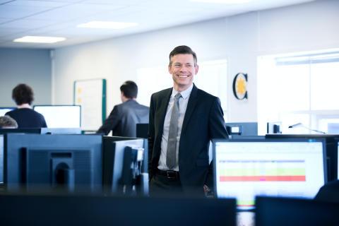 Adm. direktør Jørgen Utzon fra Coor Service Management A/S
