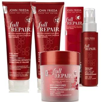 John Frieda introduserer hårpleieserien Full Repair!