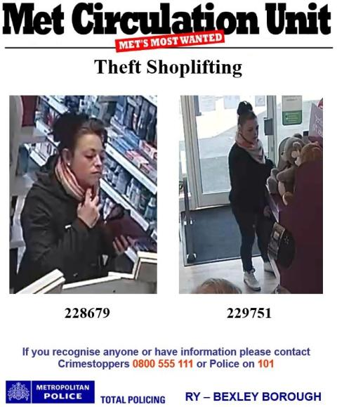 Appeal for suspect
