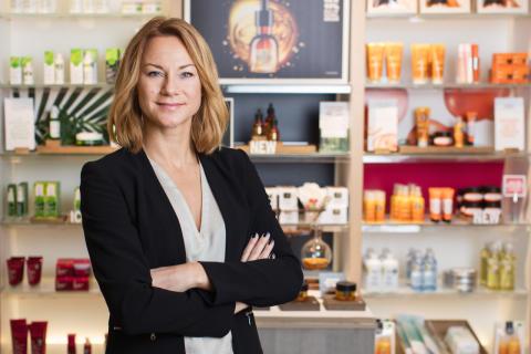 Cecilia Sahlin, VD The Body Shop Sverige