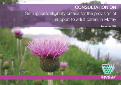 Consultation on support for unpaid carers in Moray