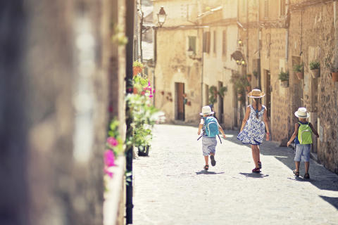 Vi jagter autentiske oplevelser på ferien