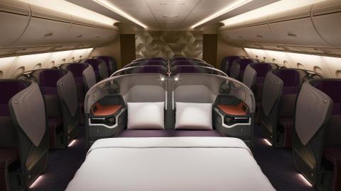 SINGAPORE AIRLINES INVESTERER MILLIARDBELØB: Sætter ny standard for luksus i luften