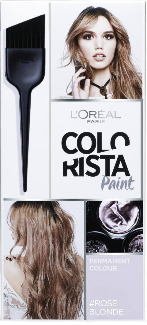 L'Oréal Paris Colorista Hairpaint #Roseblonde kestoväri