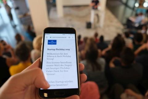 Digital, innovativ, erfolgversprechend: Gründer stellen Villeroy & Boch beim Startup Pitch Day Geschäftsideen vor