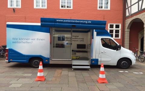 Beratungsmobil der Unabhängigen Patientenberatung kommt am 11. März nach Nienburg.