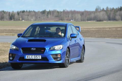 Helt nya Subaru WRX STI