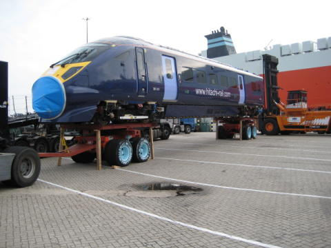 Final Class 395 Train Arrives in Southampton, Begins Last Leg of Journey to Depot in Ashford