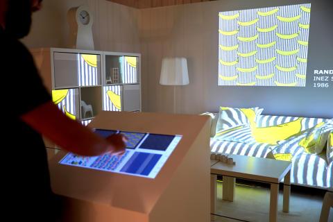 Stoffer gennem tiden på IKEA Museet