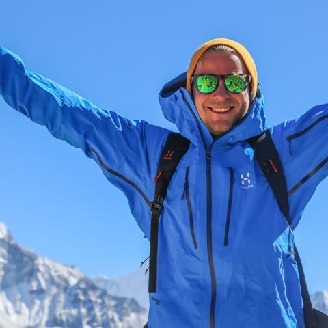 Nominerad Årets äventyrare - Robin Trygg
