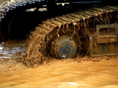 Volvo grävmaskiner - undervagn