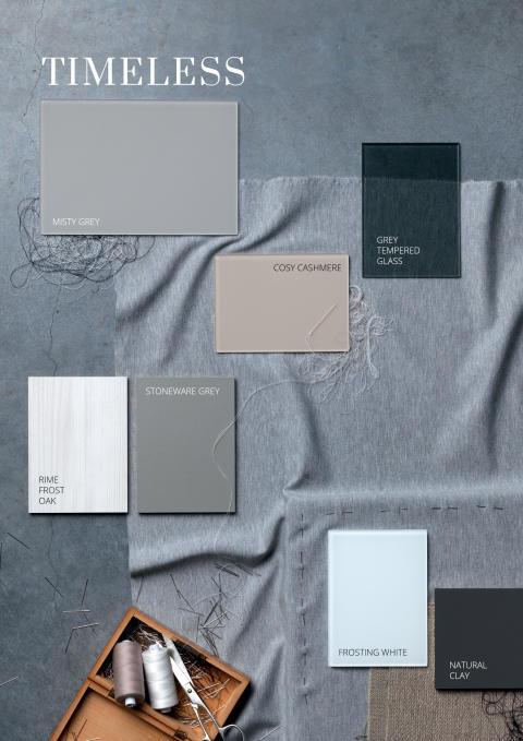 Farvekollektion 2019 – Farver i balanse, TIMELESS