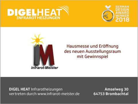 Hausmesse und Eröffnung des neuen Ausstellungsraum in Brombachtal