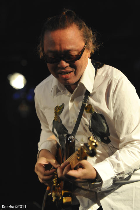 Nguyen Lê (Céline Bonacina Trio) / Umeå Jazzfestival 2014