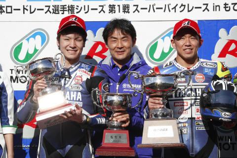 全日本ロードレース選手権 JSB1000 Rd.01 4月7-8日 もてぎ
