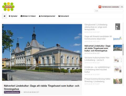 Veckans kulturnyheter från Lindesberg - vecka 10