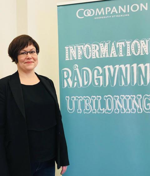 Susanne Friberg blir ny verksamhetsledare för Coompanion Norrbotten