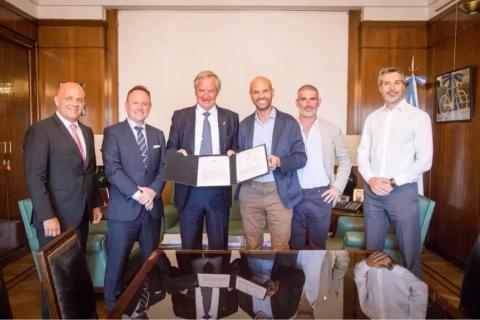 Norwegian har fått drifttillstånd i Argentina