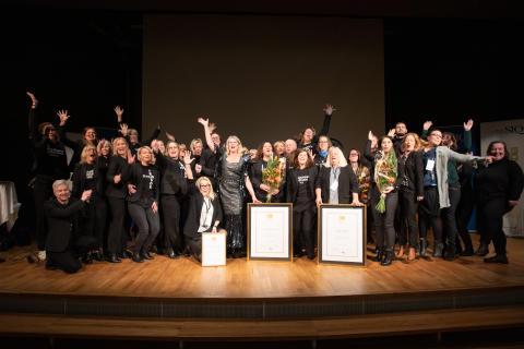 Tre skolor fick ta emot utmärkelser för vinnande kvalitetskultur