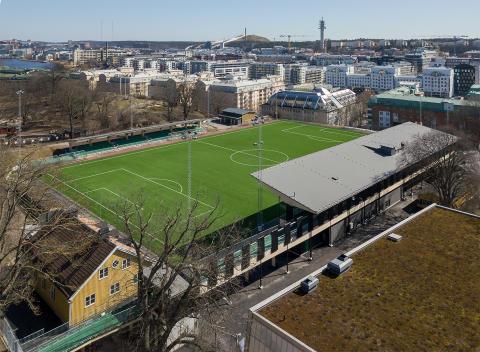 Premiär för nya Hammarby IP