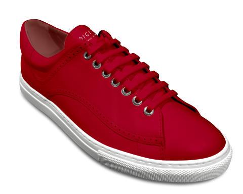 Digitsole Harrison Warm Sneaker röd