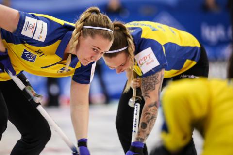 Curling-VM: Tredje raka segern för lag Hasselborg