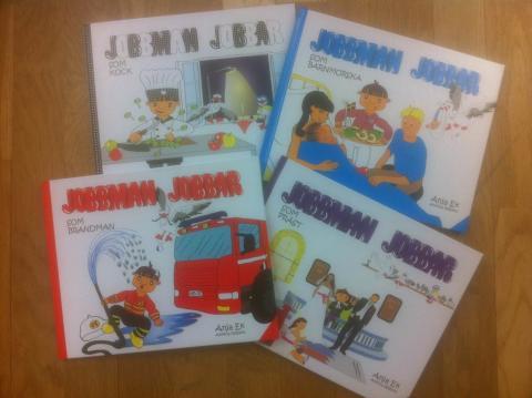 Jobbman - inspirerande sagoböcker om bemanningsbranschen
