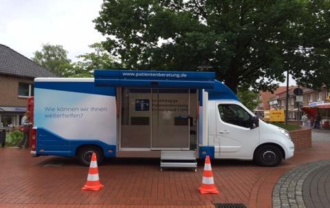 Beratungsmobil der Unabhängigen Patientenberatung kommt am 10. März nach Soltau.