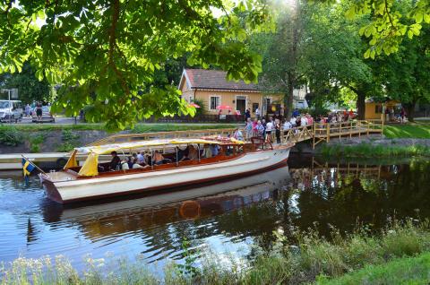 Bättre service till båtbussresenärer i Karlstad