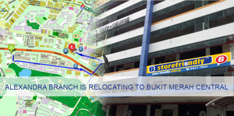 Alexandra Branch relocates to Bukit Merah Central