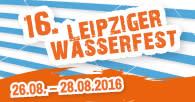 16. Leipziger Wasserfest vom 26. bis 28. August 2016