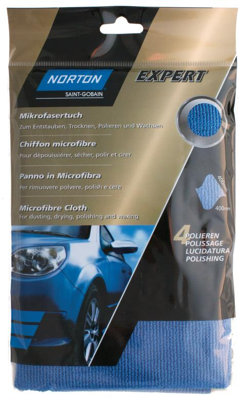 Norton Expert Auto - Product Microfibre cloth