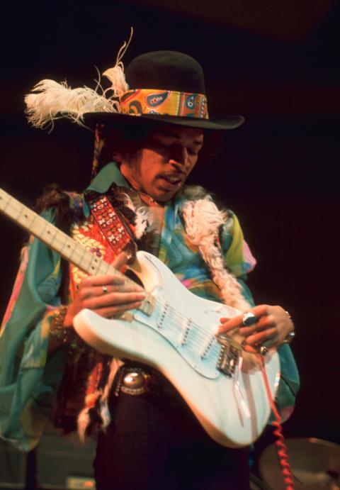 Jimi Hendrix - pressbild