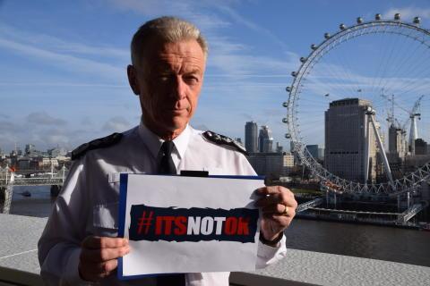 Met supporting sexual violence awareness week