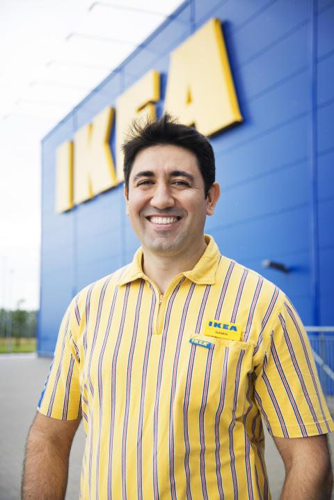 Namik Catkafa varehuschef IKEA Odense