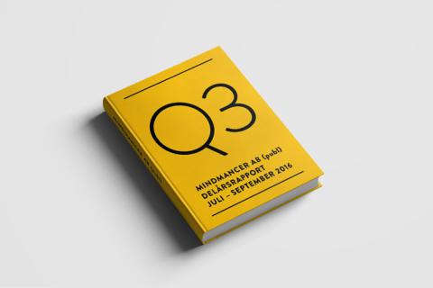 Delårsrapport för Mindmancer AB (publ) Q3 2016