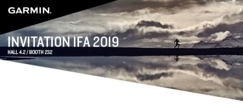 Garmin präsentiert neue Wearable-Trends auf der IFA 2019