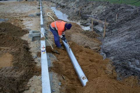 BLÜCHER EuroPipe - rostfria avloppsrör för installation ovan och under mark