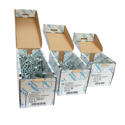Skruvförpackning