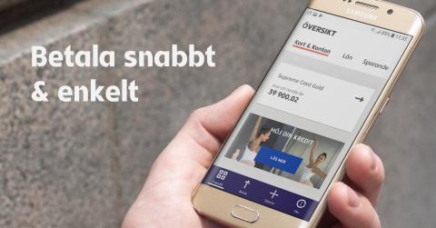 Resurs lanserar smidiga betaltjänster i ny app