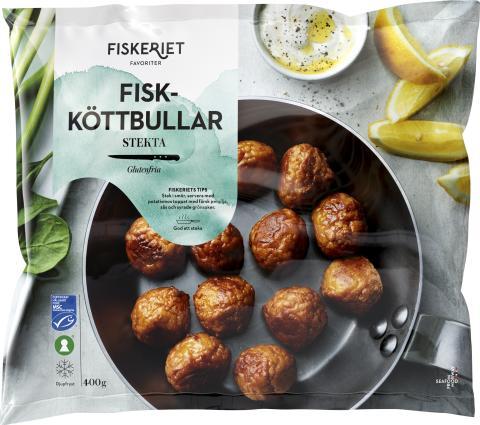Äntligen lanserar vi frysta Fiskköttbullar!