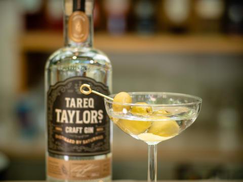 Tareq Taylor Craft Gin Drya