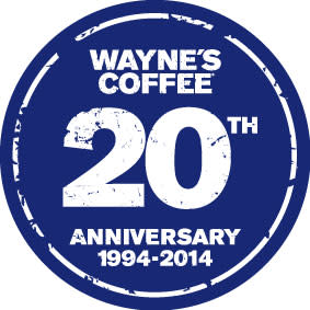 Wayne´s Coffee firar 20 års jubileum